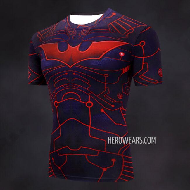 Batman Beyond Compression Shirt Rash Guard