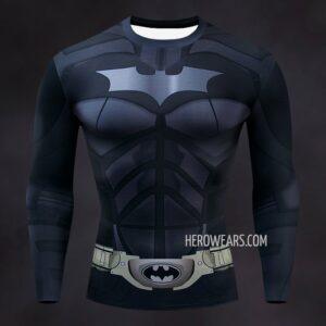 Batman Compression Shirt Rashguard