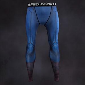Captain America Scale Armor Compression Leggings