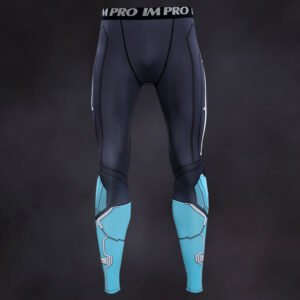 Captain Marvel Compression Leggings