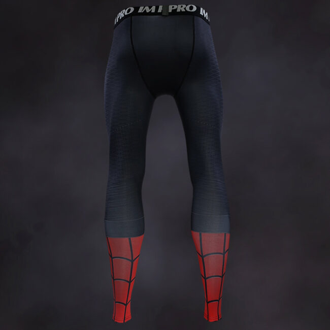Spider Man Far From Home Compression Leggings