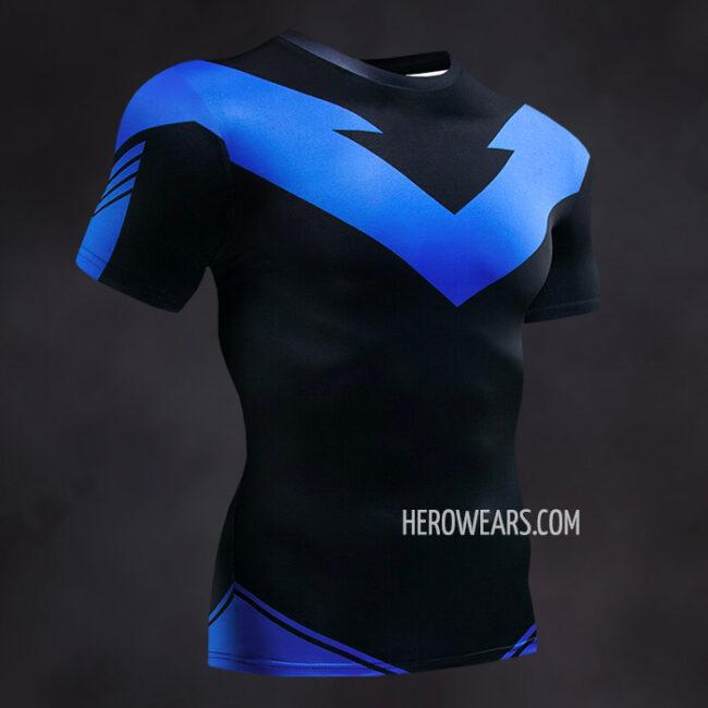 Nightwing Compression Shirt Rash Guard
