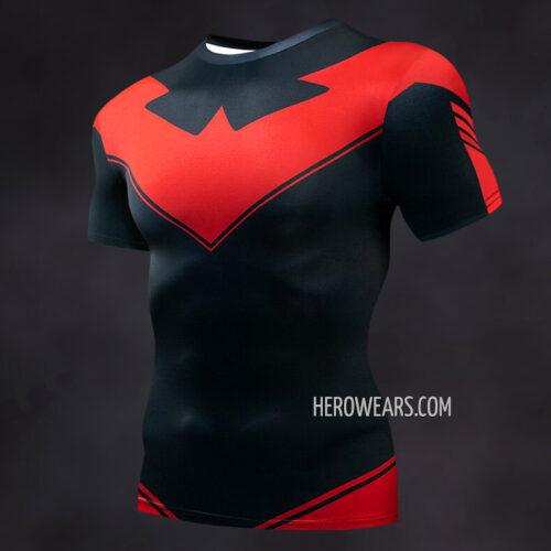 Nightwing New 52 Compression Shirt Rash Guard