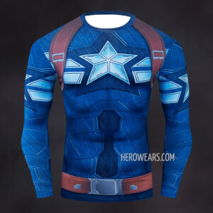 Captain America Strike Compression Shirt Rashguard
