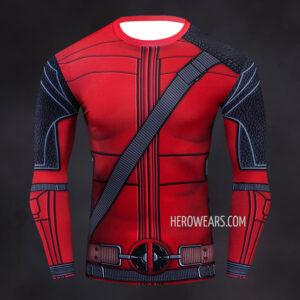 Deadpool Comic Compression Shirt Rashguard