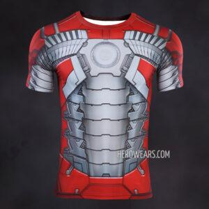 Iron Man Mk5 Compression Shirt Rash Guard