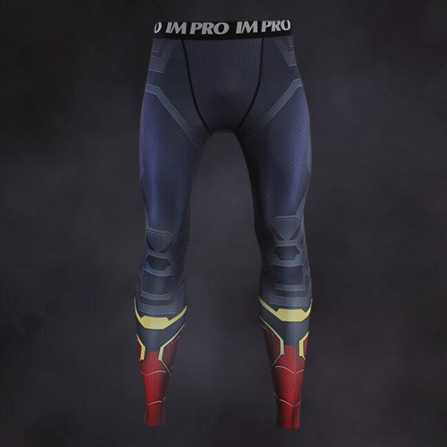 Iron Spider Man Endgame Compression Leggings