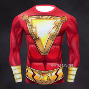 Shazam Compression Shirt Rashguard