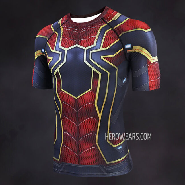 Iron Spider Man Endgame Compression Shirt