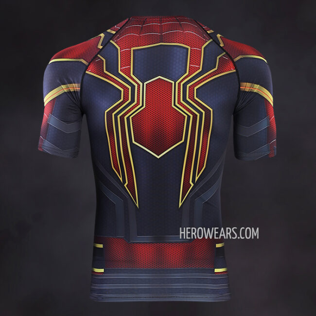 Spiderman Compression Shirt Rashguard