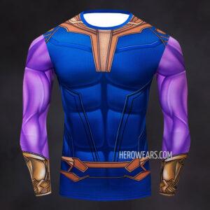 Thanos Compression Shirt Long Sleeve Rashguard
