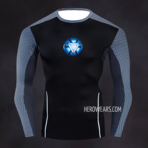 Tony Stark Compression Shirt Rashguard