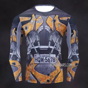 Transformers Compression Shirt Rashguard