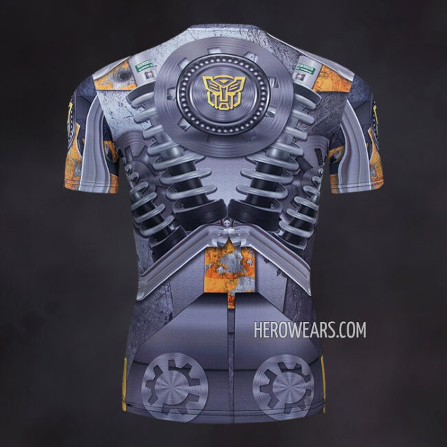 Transformers Compression Shirt Rash Guard