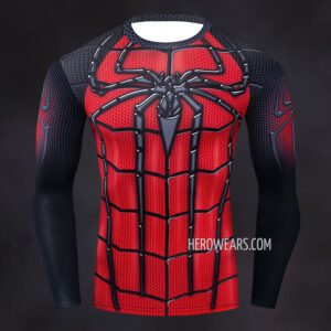 Amazing Spider Man Compression Shirt Rashguard