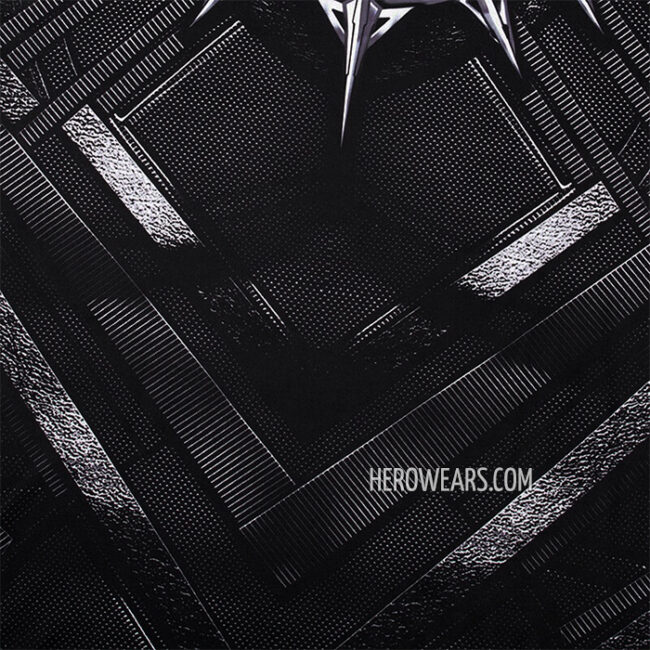 Black Panther Compression Shirt Rashguard