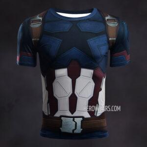 Captain America Infinity War Compression Shirt Rashguard