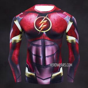 Flash Armored Compression Shirt Rashguard