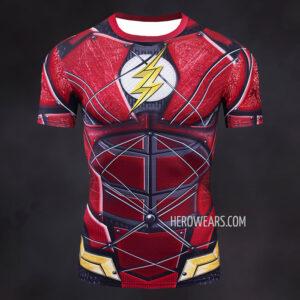 Flash Justice League Compression Shirt Rashguard
