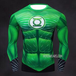 Green Lantern Compression Shirt Rashguard