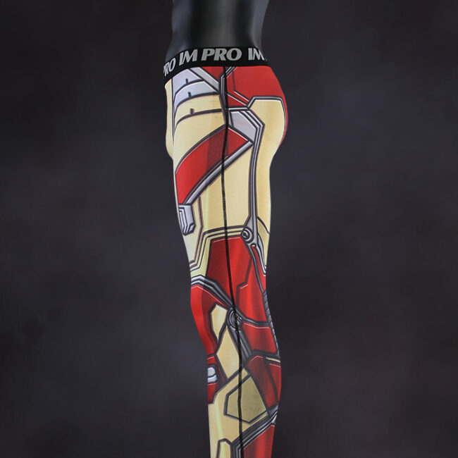Iron Man Mk42 Compression Leggings