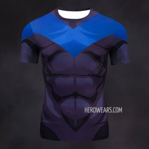 Nightwing Compression Shirt Rash Guard