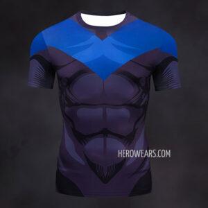 Nightwing Compression Shirt Rashguard