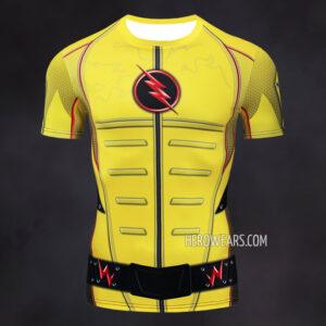 Reverse Flash Compression Shirt Rashguard