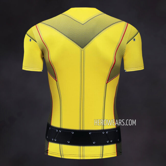 Reverse Flash Compression Shirt Rash Guard
