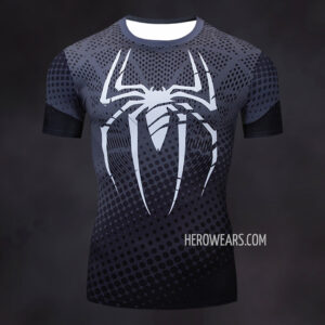 Spiderman Compression Shirt Rash Guard