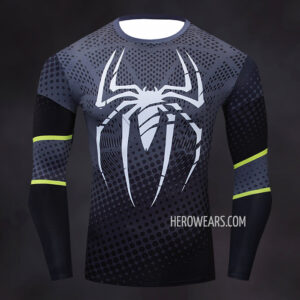 Spider Man Sport Compression Shirt Rashguard