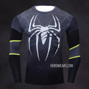 Spider Man Sport Compression Shirt Rashguard