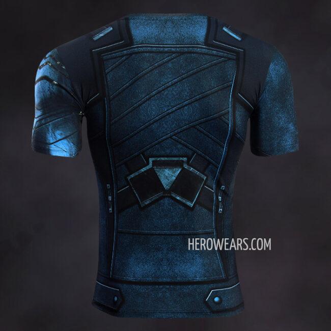 Winter Soldier White Wolf Compression Shirt Rashguard