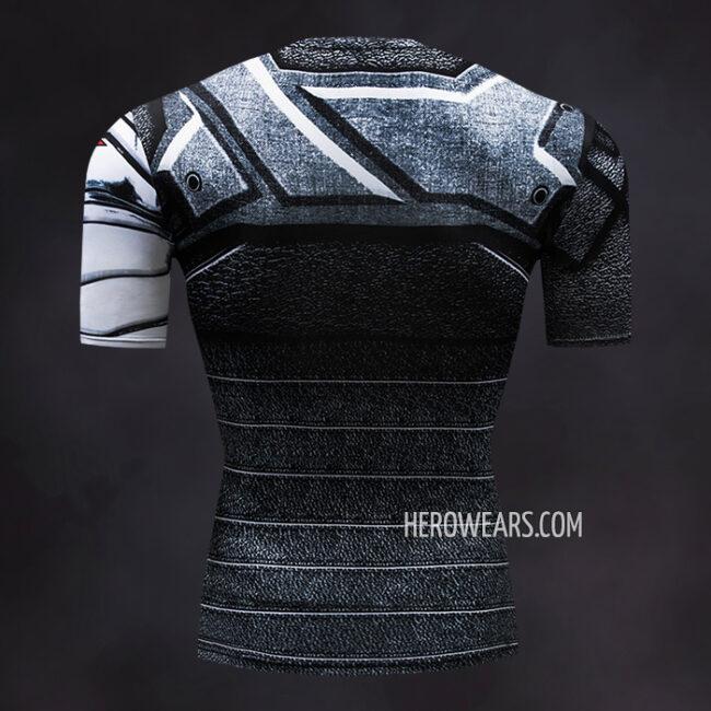 Winter Soldier Compression Shirt Rash Guard