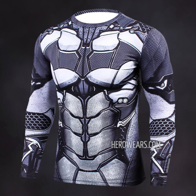 Batman Compression Shirt Rash Guard