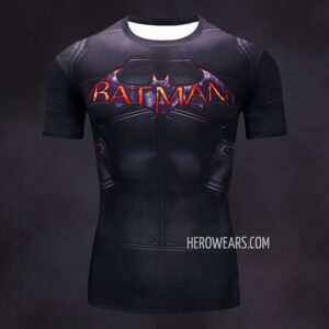 Batman Arkham City Compression Shirt Rashguard
