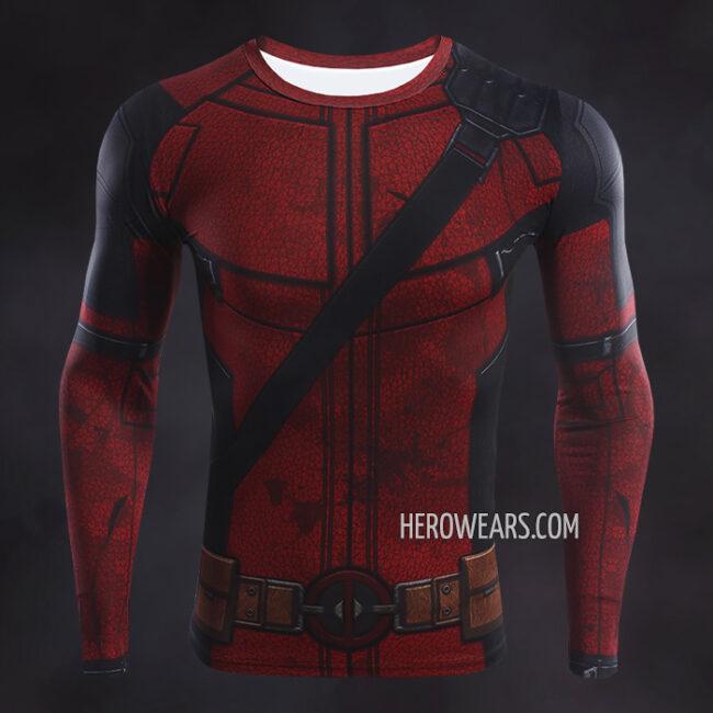 Deadpool 2 Compression Shirt Rashguard