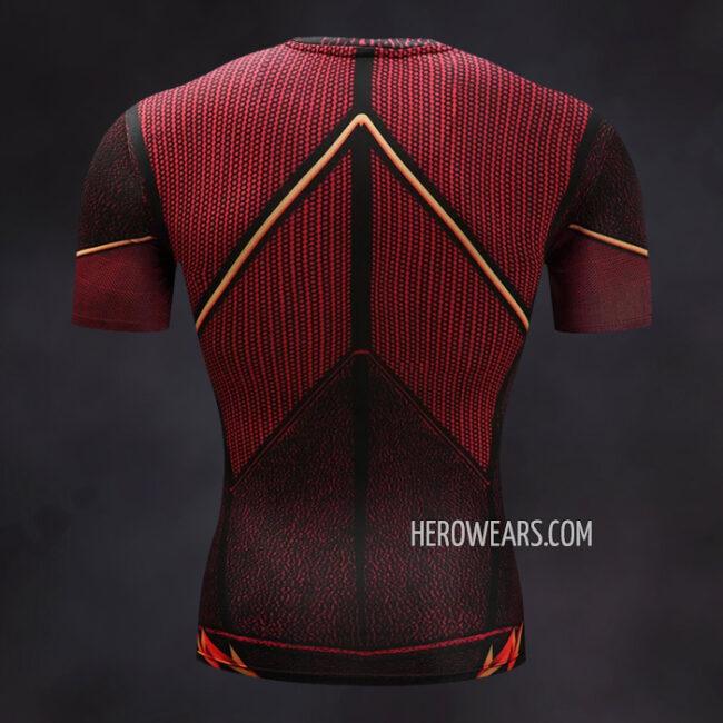 Flash Scarlet Compression Shirt Rashguard