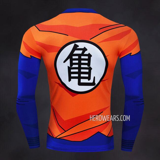 Goku Compression Shirt Rashguard