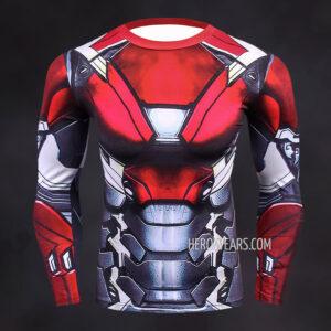 Iron Man Mk47 Compression Shirt Rashguard
