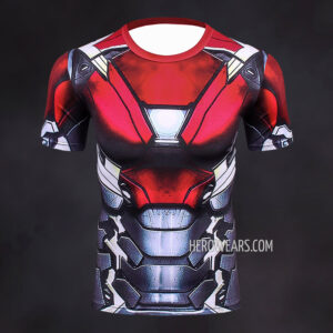Iron Man Mk47 Compression Shirt Rashguard