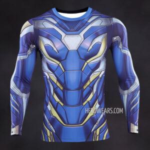 Iron Man Pepper Pots Compression Shirt Rashguard