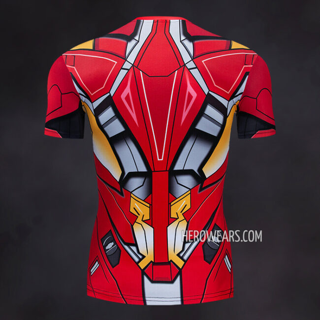 Iron Man Mk46 Compression Shirt Rash Guard