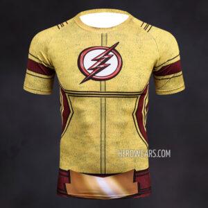 Kid Flash Compression Shirt Rashguard