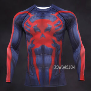 Spiderman 2099 Compression Shirt Rash Guard