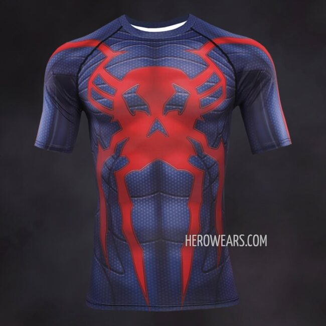 Spider Man 2099 Compression Shirt Rashguard