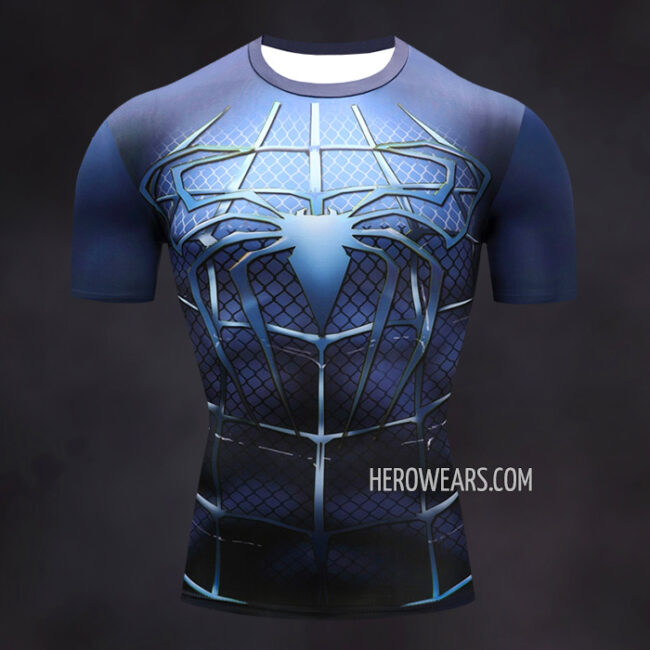 Spider Man Compression Shirt Rashguard