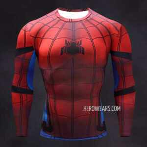 Spider Man Homecoming Compression Shirt Rashguard