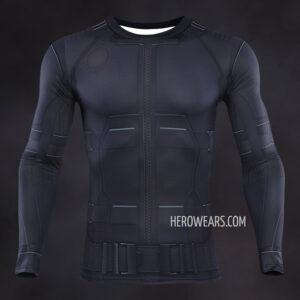 Spider Man Noir Compression Shirt Rashguard