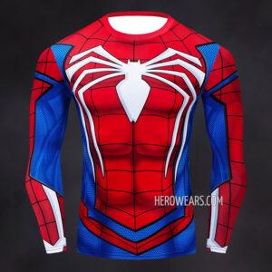 Spider Man PS4 Insomniac Compression Shirt Rashguard